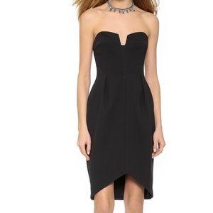 Keepsake Divide Dress Black XS